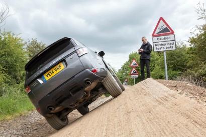 Range Rover Sport на дистанционном управлении