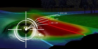 Технология отслеживания движения глаз от Opel