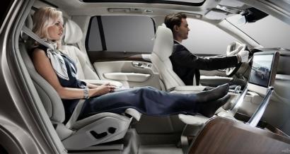 Volvo бизнес-класса Lounge Concept XC90 и апгрейд переднего пассажирского сиденья