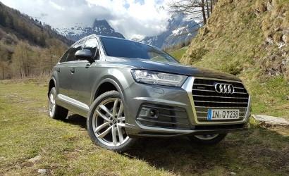 Новые Audi TDI Diesels Include V-8 и электрический V-6