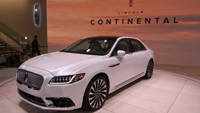 Презентация Lincoln Continental 2017 в Детройте