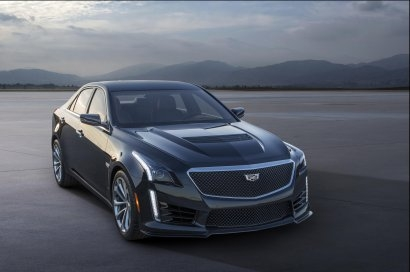 2016 Cadillac CTS-V и ATS-V Crystal White Frost Editions