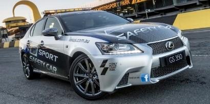 Безопасность на треке доверили Lexus