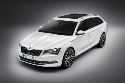 Новый Skoda Superb Estate 2015