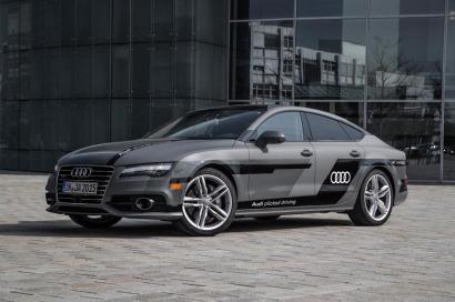 Прототип автономного Audi A7