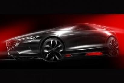 Mazda Koeru - новый большой кроссовер на автосалоне во Франкфурте