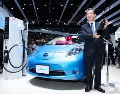 Автомобилем года в Японии стал Nissan Leaf