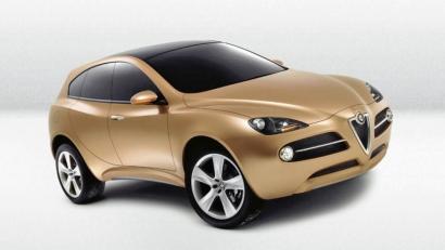 Где обещанный внедорожник Alfa Romeo?
