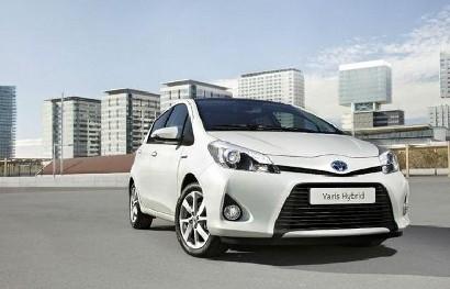 Гибрид Toyota Yaris уже в производстве