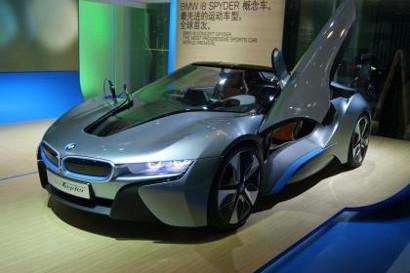 Новая концепция BMW i8 Spyder для CES 2016