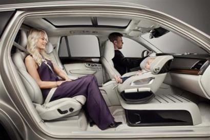 Volvo создает роскошное автокресло для детей