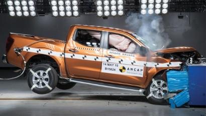 NP300 Nissan Navara получил пять звезд по показателям безопасности