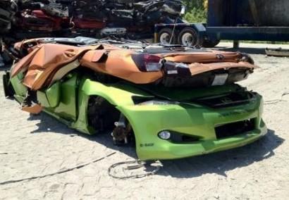 Жестокая казнь концепт-каров Lexus.