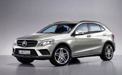 Ожидаем появления компактного кроссовера от Mercedes-Benz.