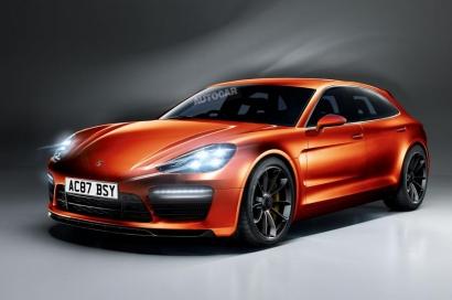 Новый электрический салон Porsche