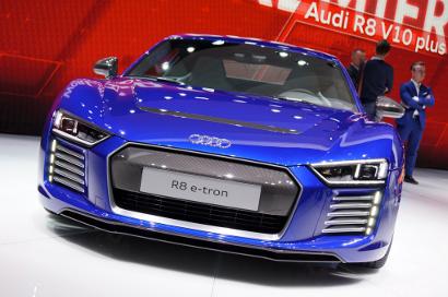 Audi выпускает большой полностью электрический внедорожник (SUV)